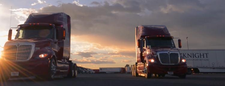 Knight Transportation — Using Zonar Technology To Enhance Fleet Performance